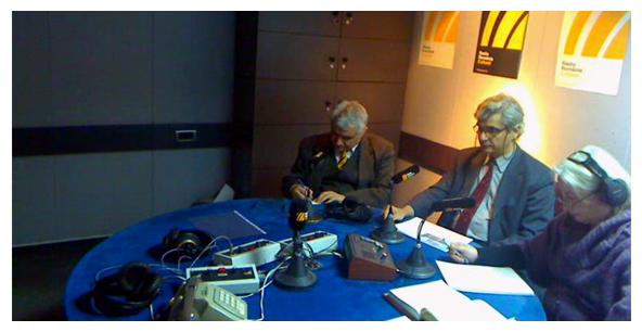 """RADIO ROMÂNIA CULTURAL – EMISIUNEA """"ȘTIINȚA LA EA ACASĂ"""" – 17 Ianuarie 2012"""