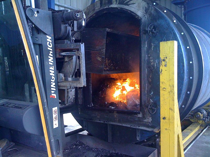 Gazeificator ASTÉ - ardere deșeuri
